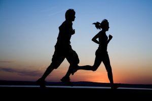 Marathonlauf und Fitness